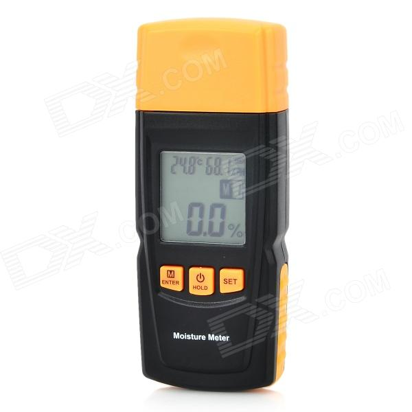 BENETECH GM610 1.75'' LCD Moisture Meter - Black + Orange spectral matching of earthquake gm using wavelets and broyden updating
