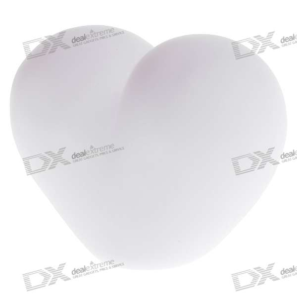 Heart Shaped RGB LED Night Light (3*AG13)