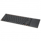 "LIT 12"" 2.4GHz Wireless Ultrathin Multimedia 82-Key Keyboard w/ Touch Control"