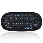 BYLINK Mini Handheld Rechargeable 2.4GHz Wireless Keyboard - Black