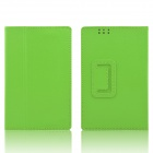 Hand Support Protective PU Leather Case w/ Auto Sleep Cover for Kobo Arc 7 HD - Green