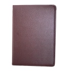 360 Degree Rotation PU Leather Case Cover Stand for Samsung Galaxy Tab Pro 10.1 T520 - Brown