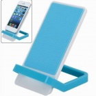 Simplicity Style Foldable Detachable Mobile Phone Holder Skid Proof Panel - Blue + White