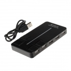 Hi-speed 10-Port USB 2.0 Hub - Black