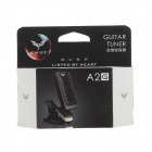 SWIFF A2G uusi Clip-on Guitar Tuner - musta (1 x CR2032)