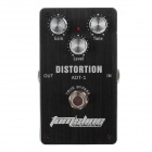 AROMA ADT-1 Distortion Electric Guitar Effect Pedal - Black (1 x 6F22 9V)