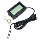 HT-1 1.5'' LCD Fish Tank Thermometer - Black