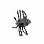 Lifelike Pull Back Jungle Spider - Black + Yellow