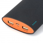 "BP ""Shake Open"" ""20000mAh"" Mobile Power Source Bank for IPHONE 5S / Samsung / HTC - Black + Orange"