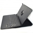 BK998 Bluetooth V3.0 65-Key Keyboard w/ Protective PU Leather Case for IPAD AIR - Black