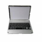 M15 Bluetooth V3.0 65-Key Keyboard with Protective Case for IPAD AIR - Silver