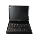 K365 Bluetooth V3.0 61-Key Keyboard w/ 360 Degree Rotation Protective Case for IPAD MINI - Black