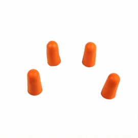 Memory Foam Noise Isolation In-Ear Earplugs - Orange ( 2 Pairs)
