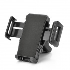 Universal Shockproof Antiskid Bicycle Mount Holder for IPHONE, PDA, MP4 and GPS - Black