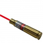ESDY-8X57JS Brass Bullet Mini Red Dot Laser Drilling calibrador - Amarillo (3 x AG3)