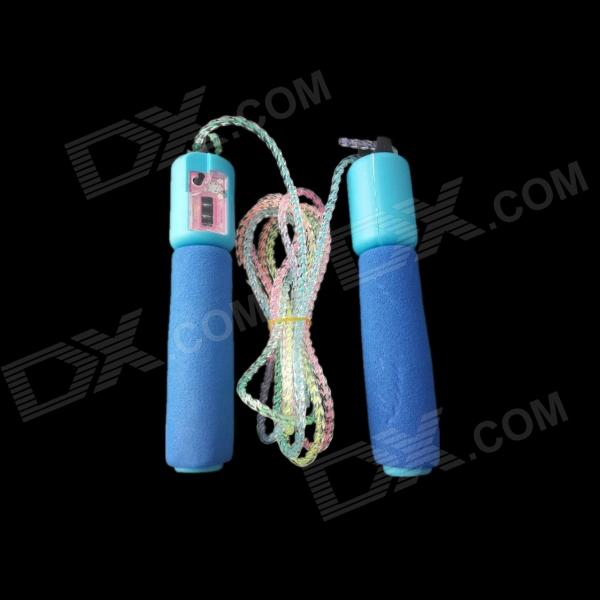 E200 229 Counter Rope Skipping - Blue (250cm)