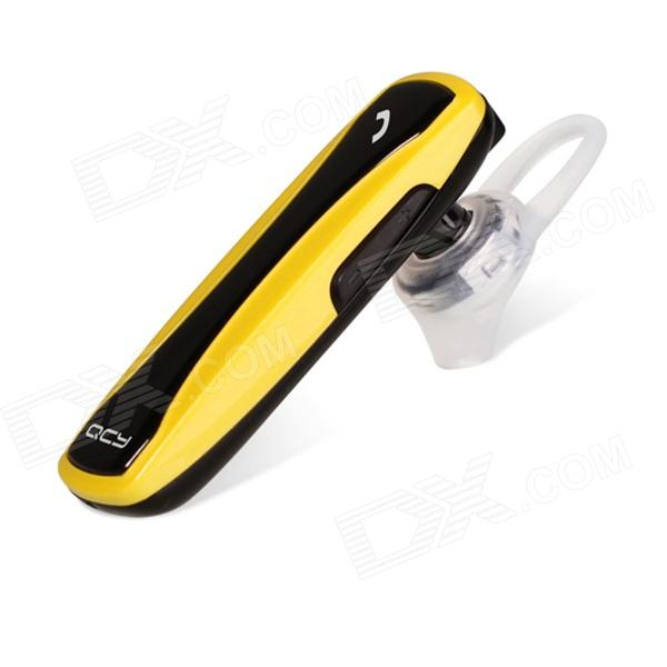 QCY J134 Universal Wireless Bluetooth V3.0 Headset - Yellow + Black + White