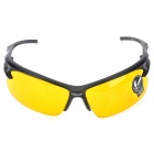 Bicycle Explosion-proof Glasses / Outdoor / Sun Glasses - Yellow + Black
