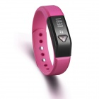 "Vidonn X5 0.49"" OLED IP67 Bluetooth V4.0 Smart Wristband Bracelet /Sports /Sleep Tracking - Rose red"