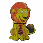 Lion Style USB 2.0 Flash Drive Disk - Multicolored (4GB)