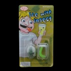 Insect in Ice Cube Prank - Transparent + Green