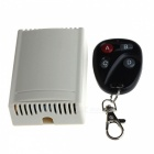 TETY YT06 315MHz 4-CH Wireless Remote Control Switch w/ 4-Key Remote Control - Beige + Black (12V)
