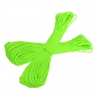 OUMILY Military Army Survival Parachute Rope - Light Green (30M / 140KG / 2 PCS)