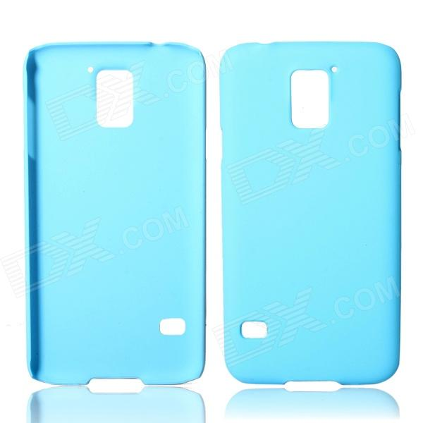 Fashionable Super Thin Protective Glaze PC Back Case for Samsung Galaxy S5 - Light Blue fashionable super thin protective glaze pc back case for nokia lumia 1320 deep blue