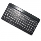 BK-996 Mini Ultra-thin Bluetooth V3.0 78-Key Keyboard for IPAD / IPHONE / Samsung Galaxy Tab - Black