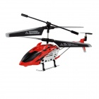 Brilink BH11 3.5-CH Rechargeable Indoor IR Remote Control Helicopter w/ Gyro - Red + Black