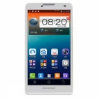 "Lenovo A889 Capacitive Screen Quad Core Android 4.2 Bar Phone w/ 6.0"" / GPS / Wi-Fi - White + Black"
