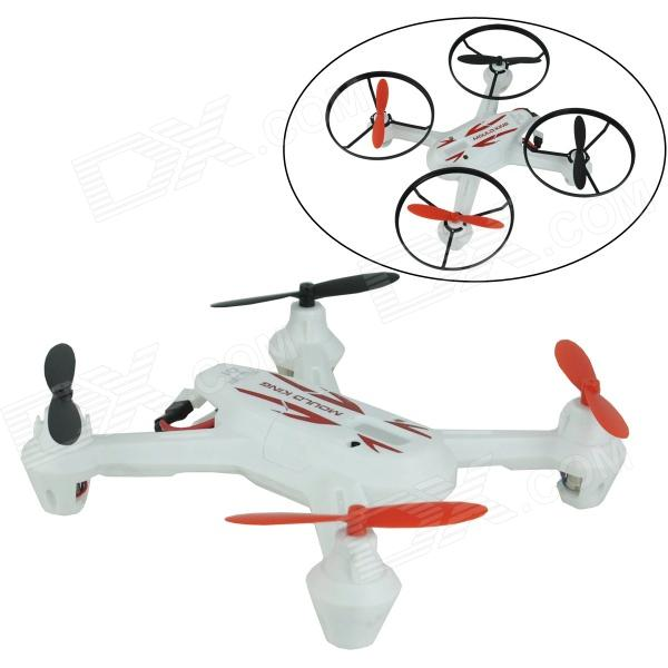 Brilink BH07 Mini 2.4G Radio Control 4-CH Quadcopter R/C Aircraft 3D Tumbling w/ 6-Axis Gyro - White