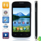 "MP-C8(C8) MTK6572 Dual-core Android 4.2.2 GSM Bar Phone w/ 4.0"", FM, Wi-Fi - Black"