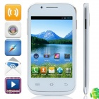 "MP-C8(C8) MTK6572 Dual-core Android 4.2.2 GSM Bar Phone w/ 4.0"", FM, Wi-Fi - White"