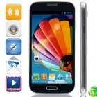 "M-HORSE i9505+ SC6820 Android 4.1.2 GSM Bar Phone w/ 5.0"", FM, Wi-Fi - Black"