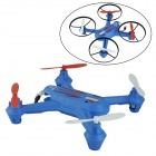 Brilink BH07 Mini 2.4G Radio Control 4-CH Quadcopter R/C Aircraft 3D Tumbling w/ 6-Axis Gyro - Blue