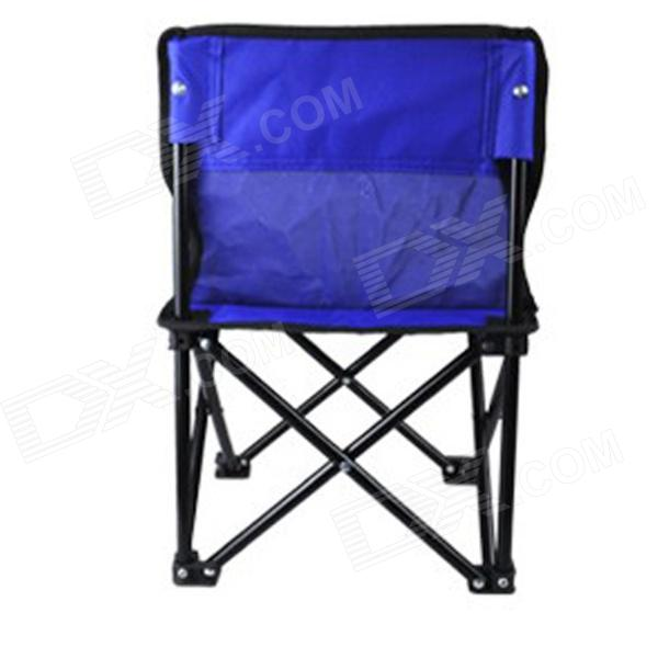 Xiong Huo Y1 Multifunctional Foldable Fishing Chair Trumpet - Blue furniture exhibition bar stool wine red blue color chair retail wholesale free shipping living room hotel ktv chair