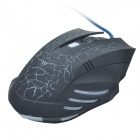 HAVIT HV-MS672 Competitive Version Magic Eagle USB Wired Optical Gaming Mouse - Black + Blue