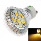 LUO DB08 GU10 8W 600lm, 3000K, 15 x 5630 SMD LED Warm White Light Spotlight - Silber (85 ~ 265V)