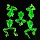 Fishing Gear Simulation Frog Bait - Green (5 PCS)