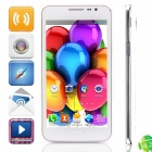 "G910W(G910) MTK6572 Dual-core Android 4.2.2 WCDMA Bar Phone w/ 5.0"", FM, Wi-Fi and GPS - White"