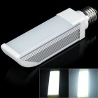 E27 10W 430lm 50 x SMD 2835 LED 6-Mode White Light Corn Lamp w/ Milky White Cover - (85~265V)