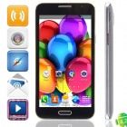 "G910W(G910) MTK6572 Dual-core Android 4.2.2 WCDMA Bar Phone w/ 5.0"", FM, Wi-Fi and GPS - Black"