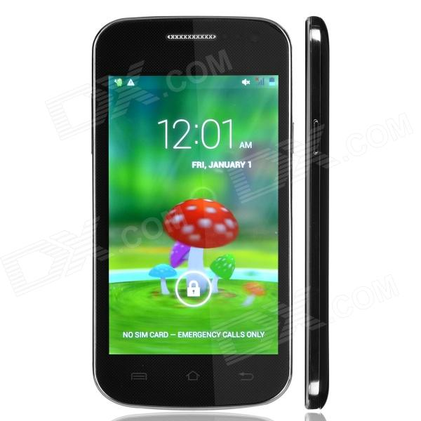 "MINI H3068 Capacitive Touch Screen Android 2.3 Bar Phone w/ 4.0"" / Bluetooth / Wi-Fi / GPS - Black"