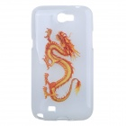 Good Luck Dragon Pattern Silicone Case for Samsung Galaxy Note 2 / N7100
