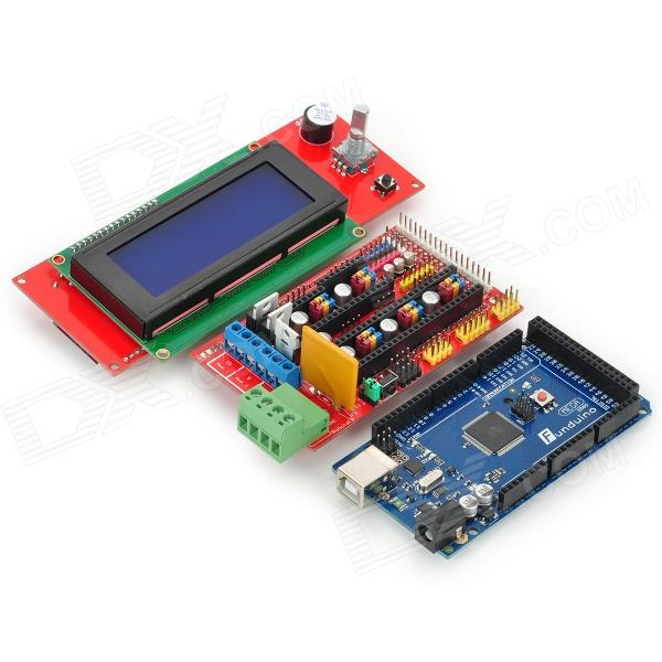 Funduino 3D RAMPS 1.4 3D Control Board Set - Red