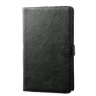 Protective PU Leather Case Stand w/ Auto Sleep Cover for Samsung Galaxy Tab Pro T320 8.4 - Black