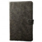 Protective PU Leather Case Stand w/ Auto Sleep Cover for Samsung Galaxy Tab Pro T320 8.4 - Grey