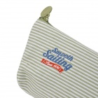 Wind Sailing Stripes Pencil Case - Green