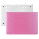 "BTA Protective PC Case for Apple MacBook Pro Retina 15.4"" - Pink + White"